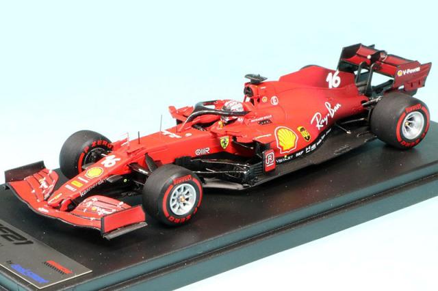 ルックスマート 1/43 フェラーリ SF21 バーレーンGP 2021 C.ルクレール LSF1035