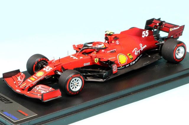 ルックスマート 1/43 フェラーリ SF21 バーレーンGP 2021 C.サインツ Jr. LSF1036