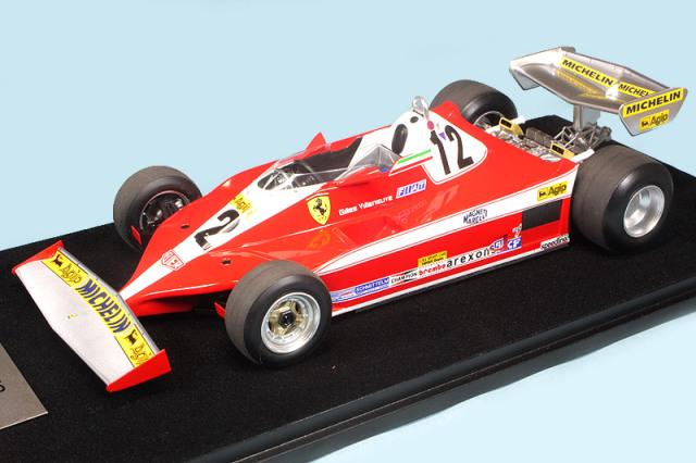 """ルックスマート 1/18 フェラーリ 312 T3 カナダGP 1978 Winner G.ビルニューブ """"初優勝"""" LSF1H02"""