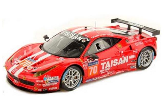 ルックスマート 1/43 フェラーリ 458 GTE ルマン 24h 2014 No.70 LSLM04