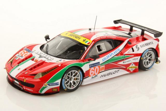 ルックスマート 1/43 フェラーリ 458 GTE ルマン 24h 2014 LM-GTE-Am No.60 LSLM05