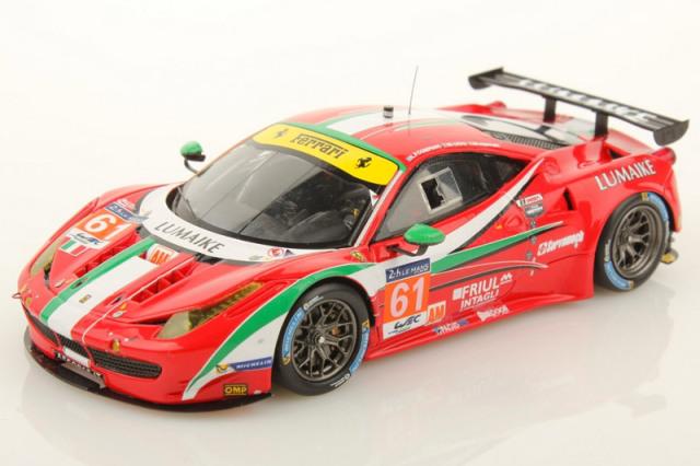 ルックスマート 1/43 フェラーリ 458 GTE ルマン 24h 2014 LM-GTE-Am 3rd No.61 LSLM06