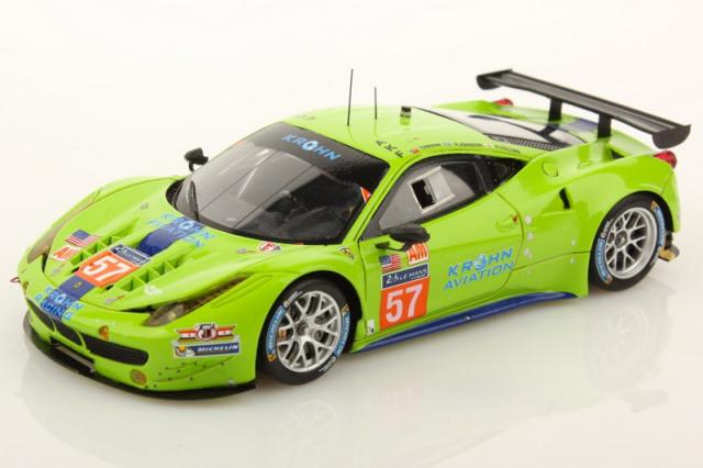 ルックスマート 1/43 フェラーリ 458 GTE ルマン 24h 2014 LM-GTE-Am 10th No.57 LSLM11