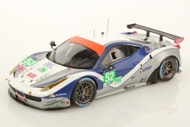 ルックスマート 1/43 フェラーリ 458 GTE ルマン 24h 2014 LM-GTE-Pro No.52 LSLM12