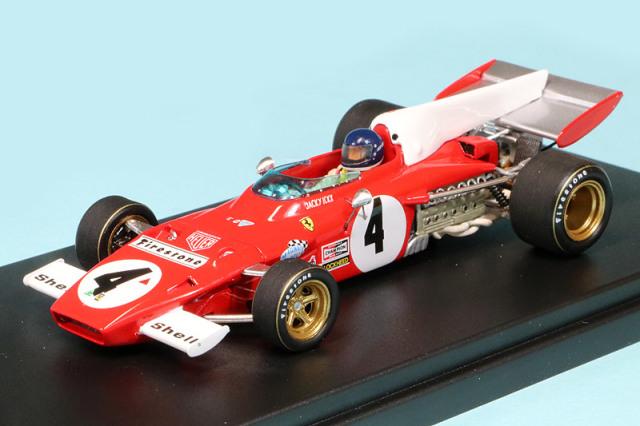 ルックスマート 1/43 フェラーリ 312 B2 ドイツGP 1972 Winner J.イクス LSRC014