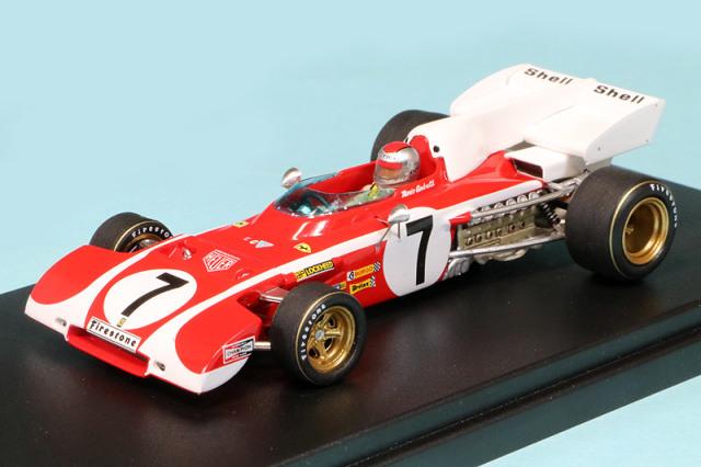 ルックスマート 1/43 フェラーリ 312 B2 南アフリカGP 1972 4th M.アンドレッティ LSRC015