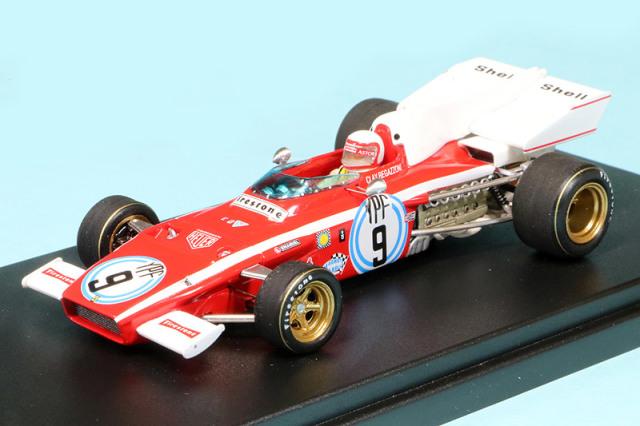 ルックスマート 1/43 フェラーリ 312 B2 アルゼンチンGP 1972 4th C.レガッツォーニ LSRC016