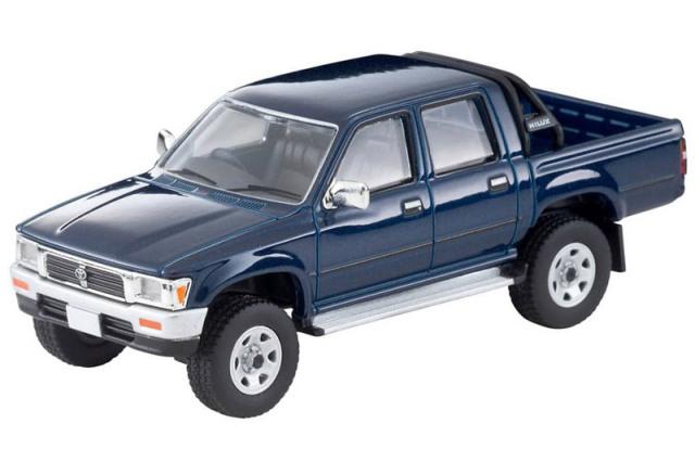 [予約] トミカリミテッドヴィンテージネオ 1/64 トヨタ ハイラックス 4WD ピックアップ ダブルキャブ SSR 1995 ネイビー LV-N255a