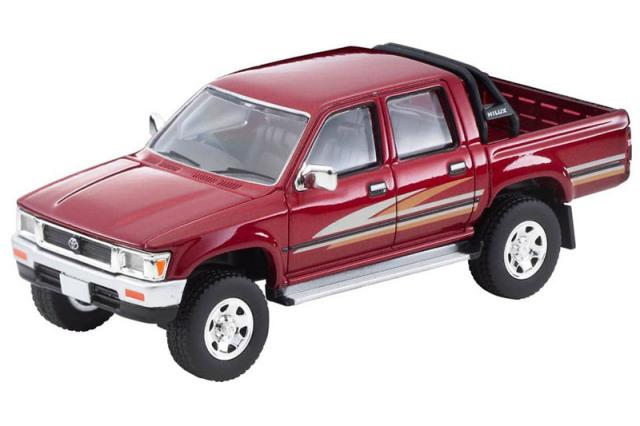 [予約] トミカリミテッドヴィンテージネオ 1/64 トヨタ ハイラックス 4WD ピックアップ ダブルキャブ SSR 1991 レッド LV-N256a