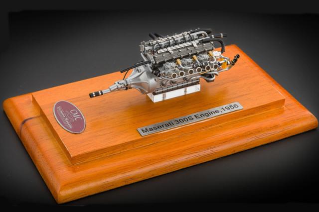 CMC 1/18 マセラティ 300S 1956 エンジン M-110