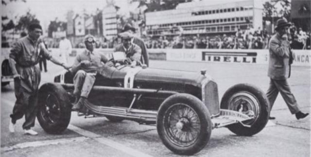 [予約] CMC 1/18 アルファロメロ P3 イタリア GP 1932 No.8 ヌヴォラーリ ウィナー M-219