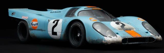 [予約] アマルガム 1/18 ポルシェ 917K デイトナ 1970 No.2 汚し塗装 M6012-RWV