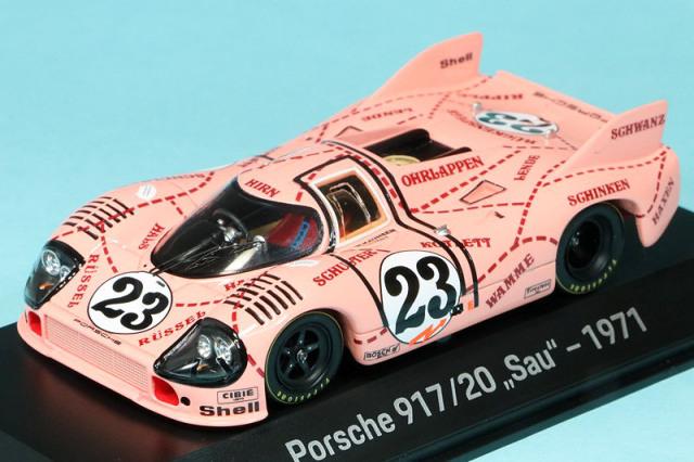 """ポルシェ特注スパーク 1/43 ポルシェ 917/20 """"Pink Pig"""" ルマン 24h 1971 No.23 MAP02035220"""
