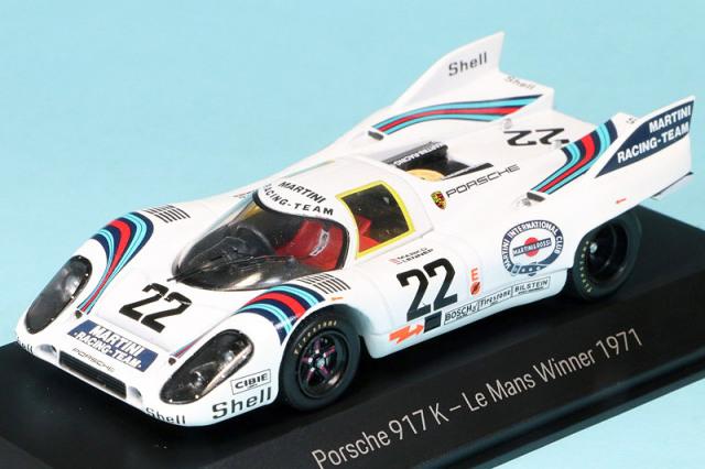 """ポルシェ特注スパーク 1/43 ポルシェ 917K ルマン 1971 No.22 """"50 Years of Porsche 917"""" MAP02046119"""
