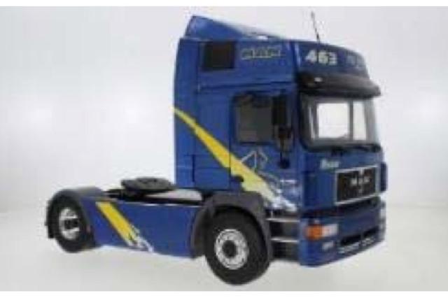 [予約] モデルカーグループ 1/18 MAN F2000 1994 メタリックブルー MCG18133