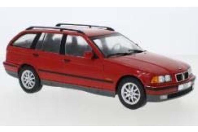 [予約] モデルカーグループ 1/18 BMW 3シリーズ E36 ツーリング 1995 レッド MCG18154