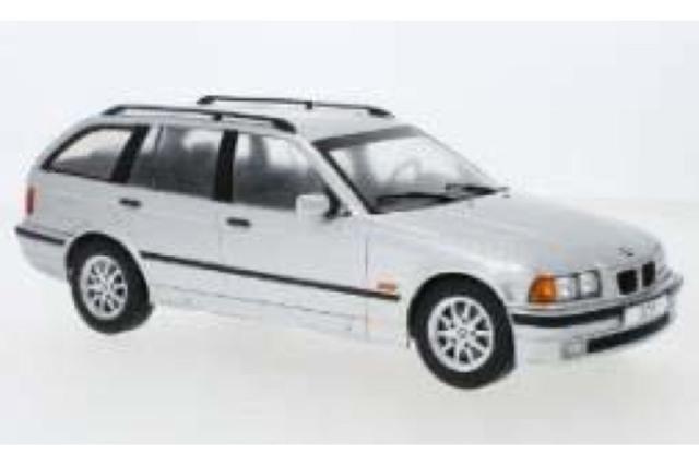 [予約] モデルカーグループ 1/18 BMW 3シリーズ E36 ツーリング 1995 シルバー MCG18156