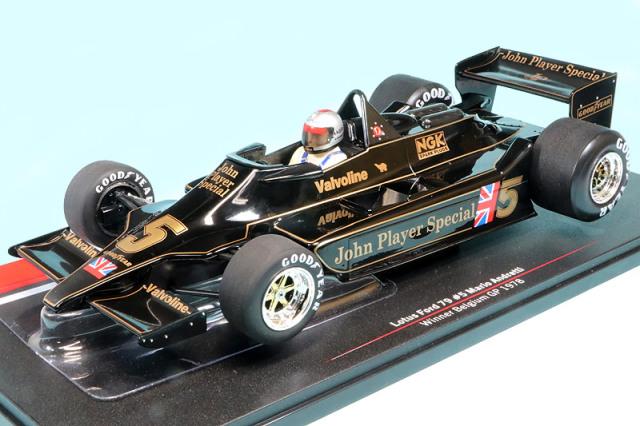 モデルカーグループ 1/18 ロータス 79 フォード ベルギーGP 1978 M.アンドレッティ MCG18604