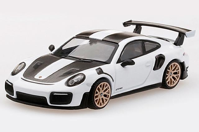 [予約] MINI-GT 1/64 ポルシェ 911 GT2 RS ヴァイザッハ パッケージ ホワイト (左ハンドル) MGT00086-L