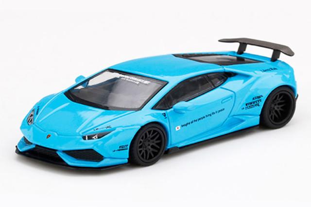 [予約] MINI-GT 1/64 LB★WORKS ランボルギーニ ウラカン Ver.1 ライトブルー (左ハンドル) MGT00189-L