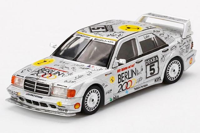 """[予約] MINI-GT 1/64 メルセデス ベンツ 190E 2.5-16 Evo.2 """"Berlin"""" DTM ゾルダー 1992 No.5 MGT00196-L"""