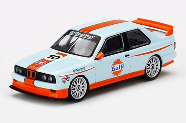 """[予約] MINI-GT 1/64 BMW M3 E30 """"Gulf"""" No.10 MGT00314-MJ"""