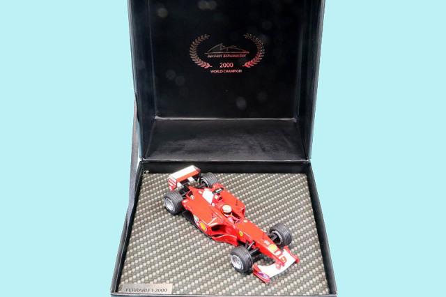 シューマッハショップ特注イクソ 1/43 フェラーリ F1-2000 ヨーロッパGP 2000 Winner M.シューマッハ MS-F12000-00A
