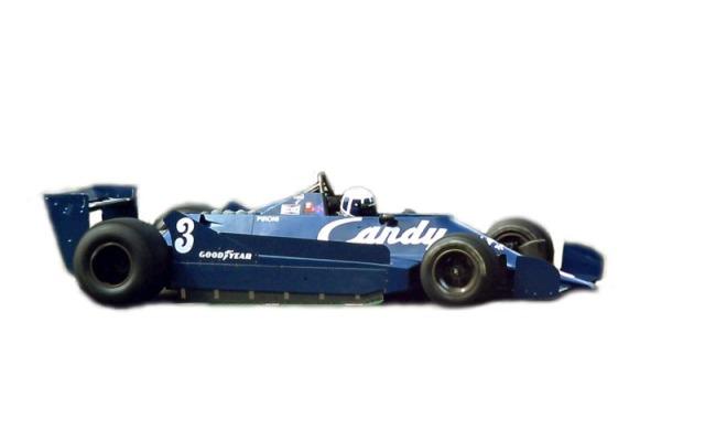 タメオ 1/43 メタルキット ティレル 009 ベルギーGP 1979 D.ピローニ J.P.ジャリエ MTG001