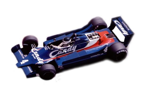 タメオ 1/43 メタルキット ティレル 009 モナコGP 1979 D.ピローニ J.P.ジャリエ MTG002