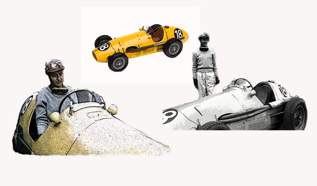 タメオ 1/43 メタルキット フェラーリ 500 F2 アヴス GP 1953 J.スウォータース MTG004