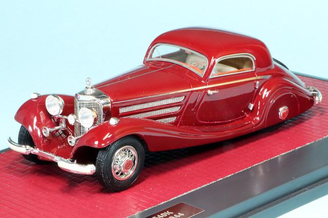MATRIX 1/43 メルセデス ベンツ 540K W29 スペシャル クーペ 1936 レッド MX41302-171