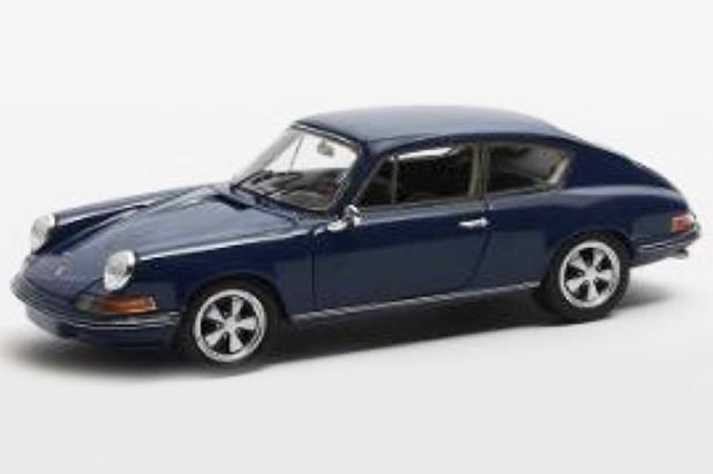 [予約] MATRIX 1/43 ポルシェ 911 B17 プロトタイプ ピニンファリーナ 1969 ブルー MX51607-032