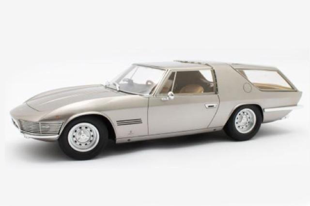[予約] MATRIX 1/18 フェラーリ 330GT シューティングブレーク Vignale 1968 メタリックブラウン MXL0604-082