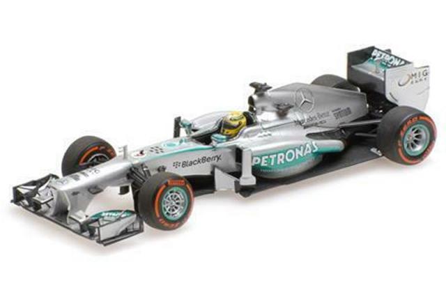 ミニチャンプス 1/43 メルセデス AMG ペトロナス W04 U.S.A.GP 2013 N.ロズベルグ 410130209 410130209