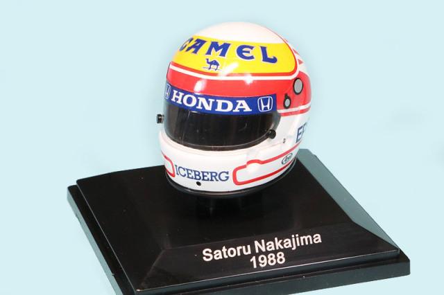 スパーク 1/8 ヘルメット 中嶋 悟 1988 NPGP02