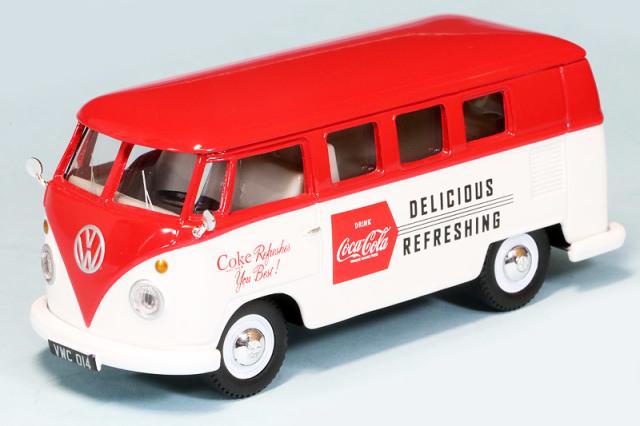 """コーギー 1/43 フォルクス ワーゲン キャンパー 1960 後期型 """"Coca Cola"""" CGCC02733"""