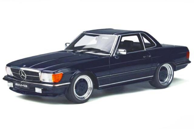 [予約] オットーモビル 1/18 メルセデス ベンツ 560 AMG R107 ネイビー OTM342