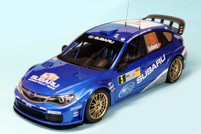 オットーモビル 1/18 スバル インプレッサ WRC 2008 No.5 OTM365