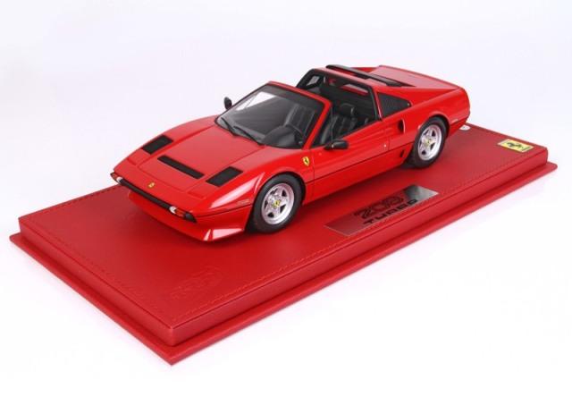 [予約] BBR 1/18 フェラーリ 208 GTB ターボ オープンルーフ ディスプレイケース付き P18142G