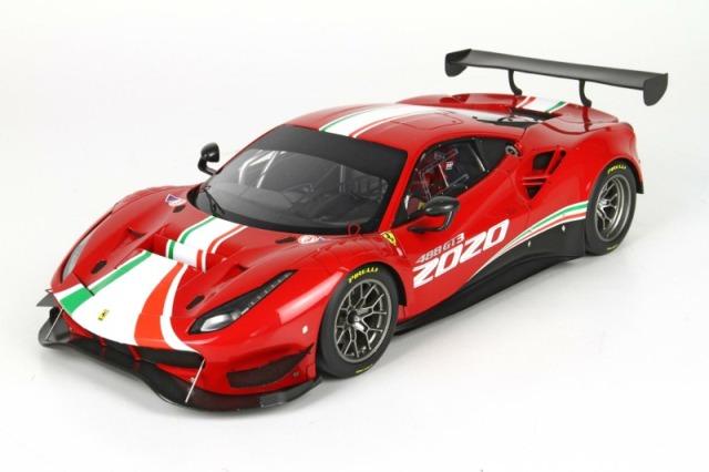 [予約] BBR 1/18 フェラーリ 488 GT3 2020 ディスプレイケース付き P18187