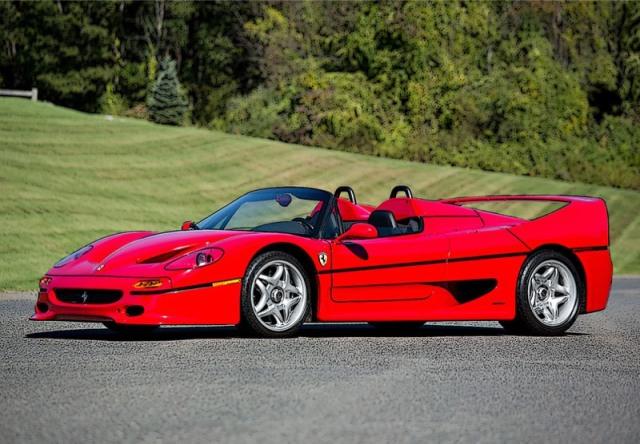 [予約] BBR 1/18 フェラーリ F50 スパイダー 1995 レッド ディスプレイケース付き P18190A