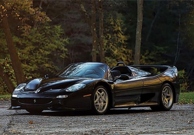 [予約] BBR 1/18 フェラーリ F50 スパイダー 1995 ブラック ディスプレイケース付き P18190C