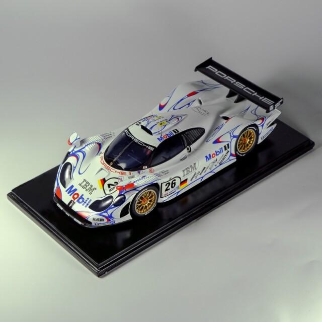 [予約] プロフィール24 1/24 レジンキット ポルシェ 911 GT1 Mobil ルマン 1998 No.25/26