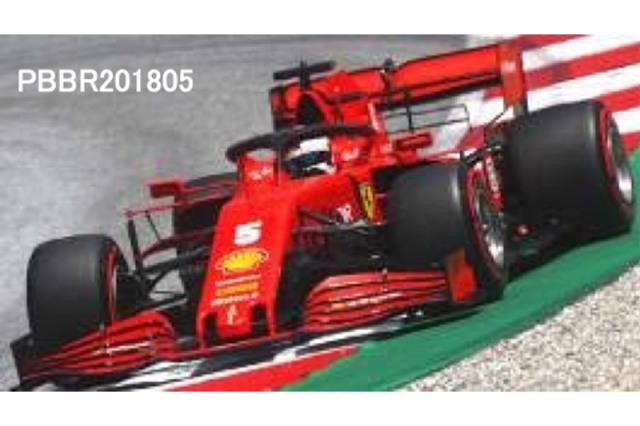 [予約] ミニチャンプス × BBR 1/18 フェラーリ SF1000 スクーデリア フェラーリ オーストラリアGP 2020 S.ベッテル 台座無し PBBR201805