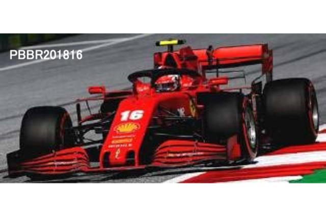 [予約] ミニチャンプス × BBR 1/18 フェラーリ SF1000 スクーデリア フェラーリ オーストラリアGP 2020 C.ルクレール 台座無し PBBR201816