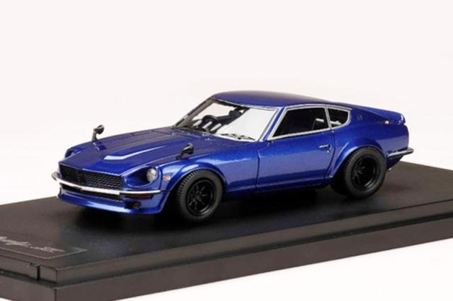 [予約] 宮沢模型特注MARK43 1/43 ニッサン フェアレディ Z S30 カスタムバージョン メタリックブルー PM43132BL