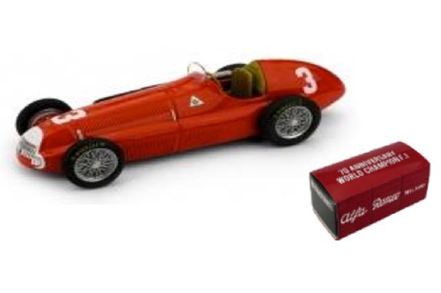 [予約] ブルム 1/43 アルファ ロメオ 158 イギリスGP 1950 L.ファジオーリ R036D