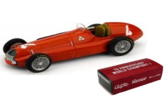 [予約] ブルム 1/43 アルファ ロメオ 158 イギリスGP 1950 R.パーネル R036E