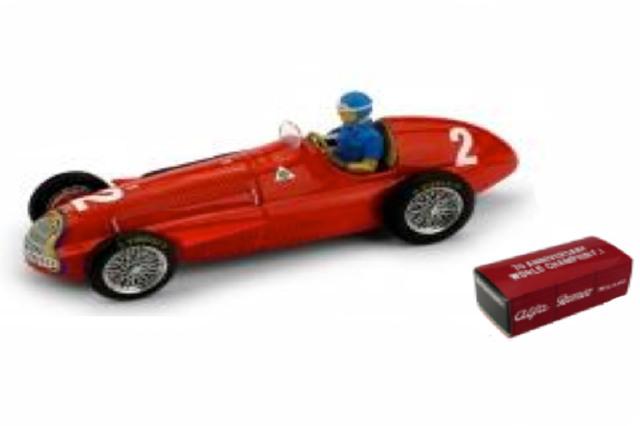 [予約] ブルム 1/43 アルファ ロメオ 159 ベルギーGP 1951 Winner J.M.ファンジオ (ドライバーフィギュア付) R043-CH