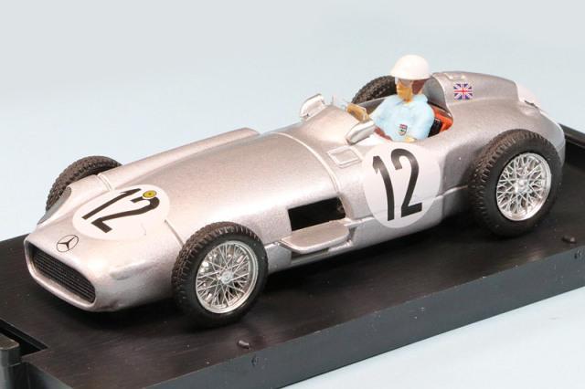 ブルム 1/43 メルセデス W196 イギリスGP 1955 Winner S.モス ドライバーフィギュア付 R072C-CH